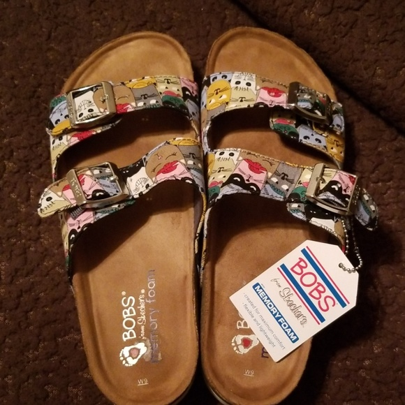 Skechers Shoes - BOBS Memory Foam sandals